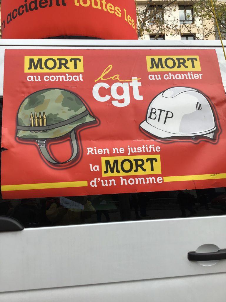 A CGT van.