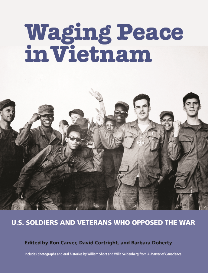 Cover, WAGING PEACE IN VIETNAM.