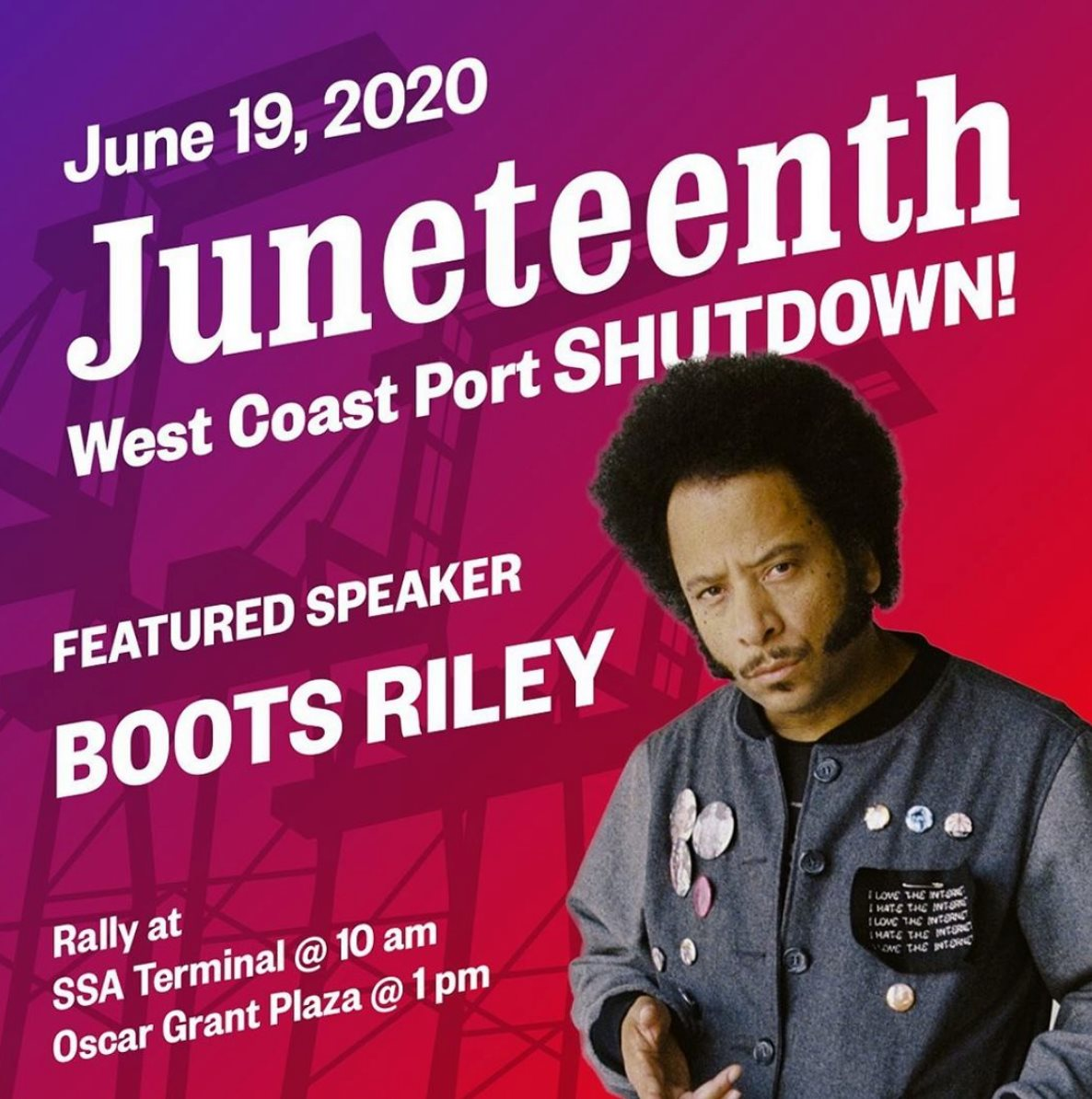 East Bay DSA was part of this event,