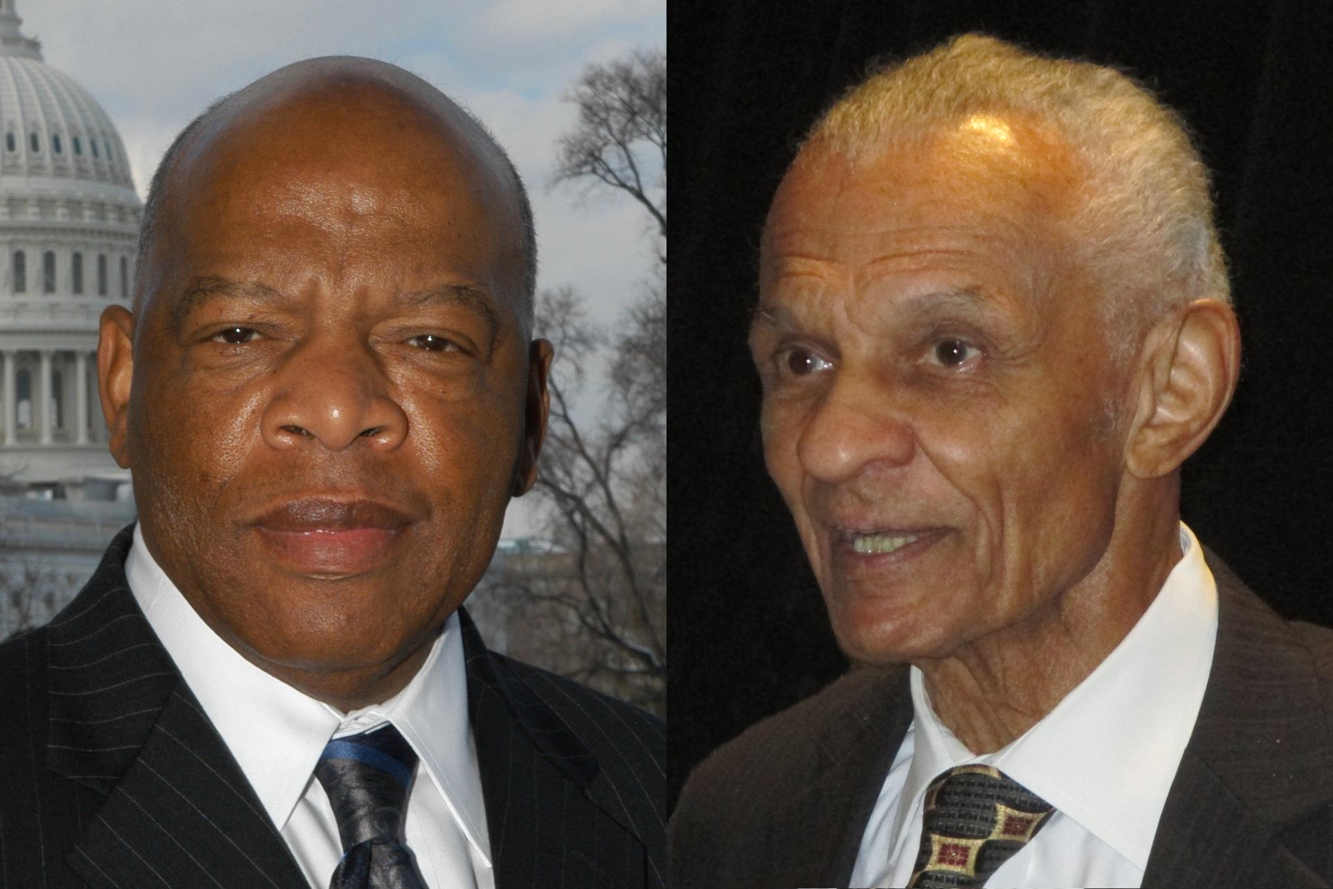 John Lewis and C.T. Vivian.