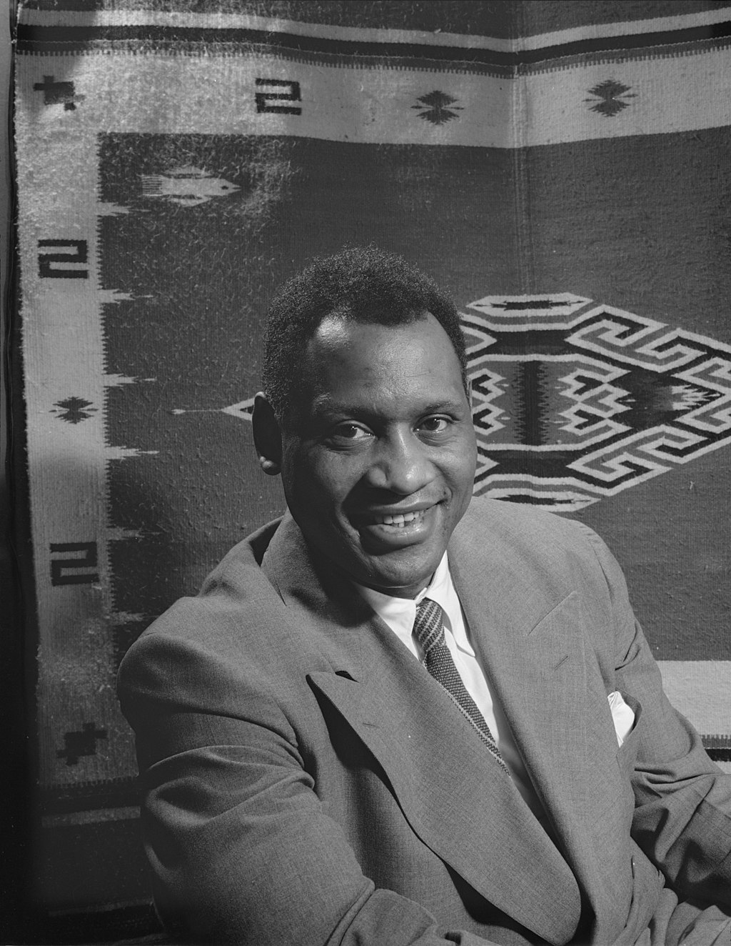 Paul Robeson in 1942. (Photo: Office of War Information)