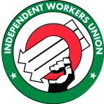 Logo for the Independent Workers Union of Great Britain, for which one of the authors is an organizer.