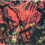 Explosion by George Grosz, c. 1917