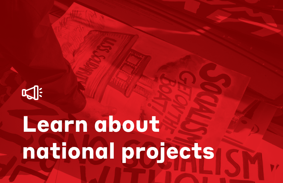 Learn about national projects